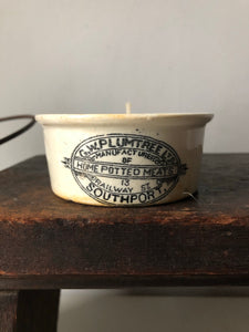 G.W Plumtree Vintage Pot Candle, Sweet orange and Rosemary
