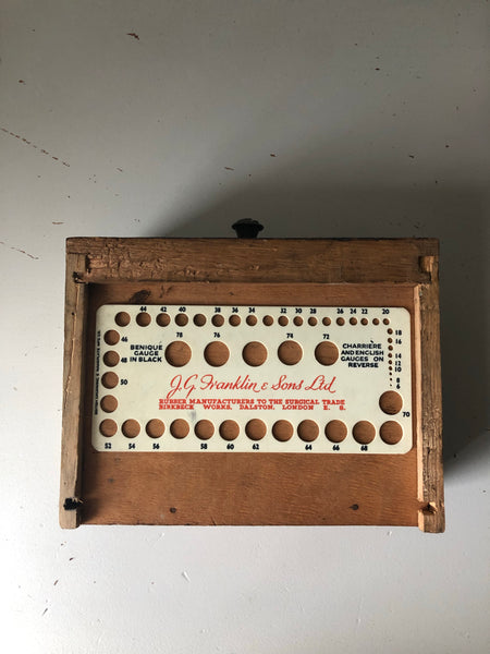Vintage surgical tube measure