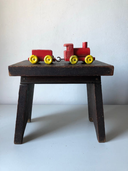 Little Wooden Train