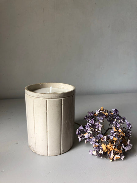 Vintage Marmalade Jar Candle, Mint and Fig