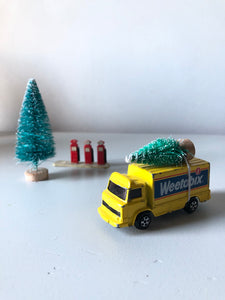 Home for Christmas - Vintage Weetabix Truck
