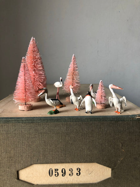 Trio of 1960s Pelican figures