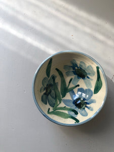 Small Vintage hand painted bowl