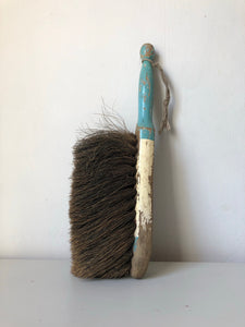 Vintage chippy paint long handle Brush