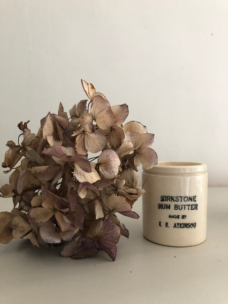 Antique Rum Butter Pot
