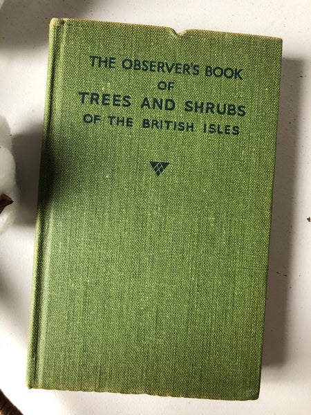 Observer book of Trees & Shrubs