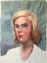 Load image into Gallery viewer, Original Watercolour Portrait, 'Blonde'