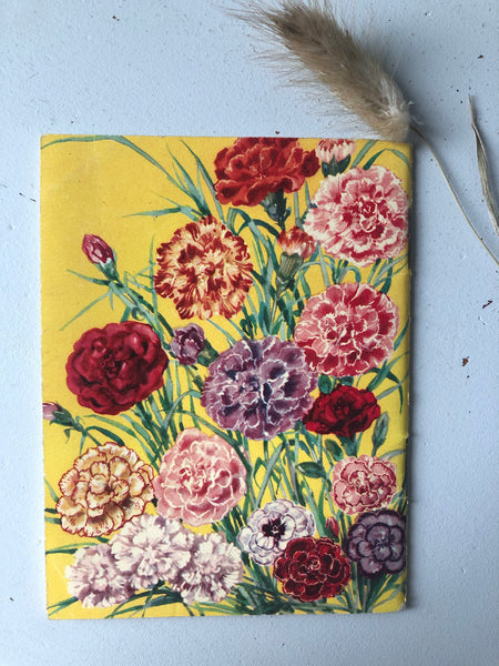 1950s Gardening booklet, Carnations and Pinks