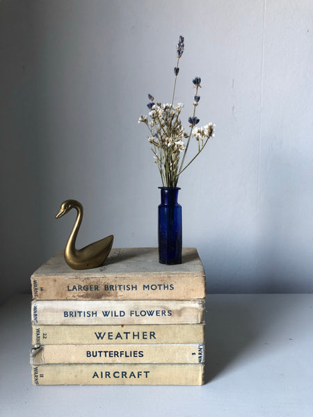 Little Vintage Brass Swan