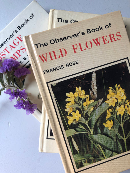 Observer Book of Wild Flowers, Hardcover