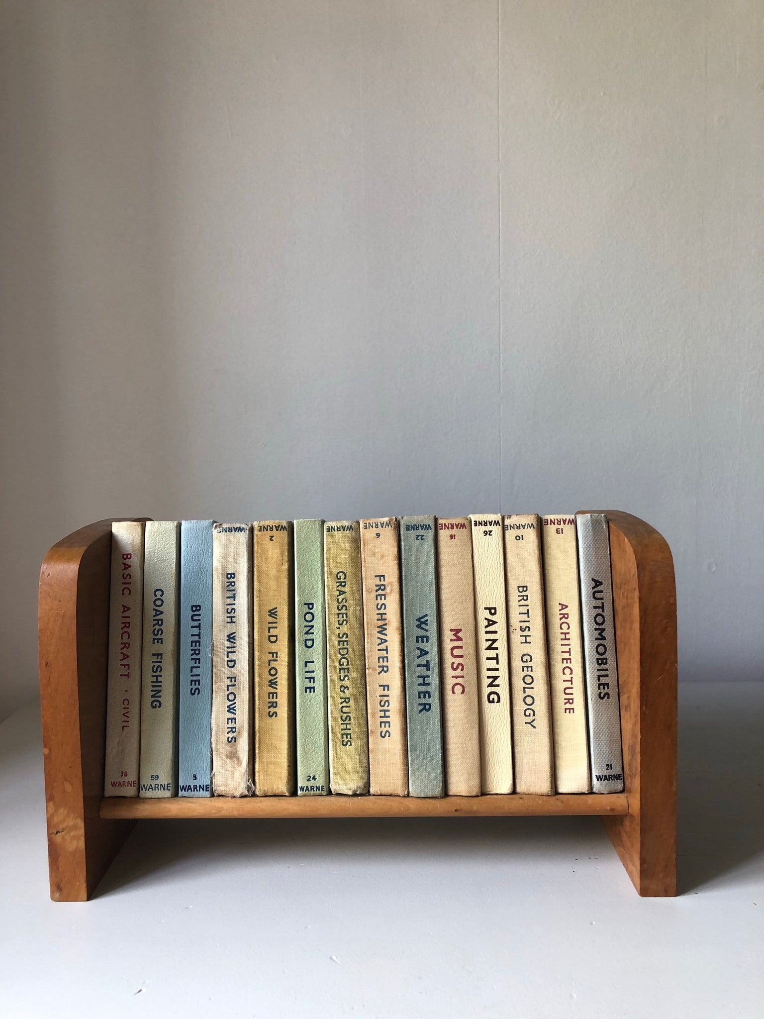 Small Wooden Table Top Bookshelf