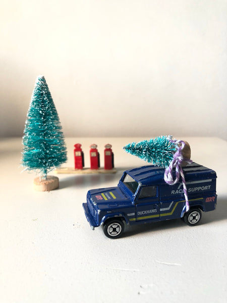 Home for Christmas - Vintage Race Jeep
