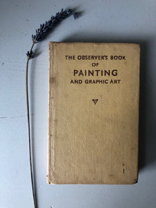 Vintage Observer Book of Painting