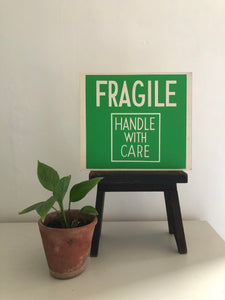 Vintage Double sided Sign, 'HIGHLY FLAMMABLE'