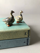 Load image into Gallery viewer, Pair of Antique Lead Geese