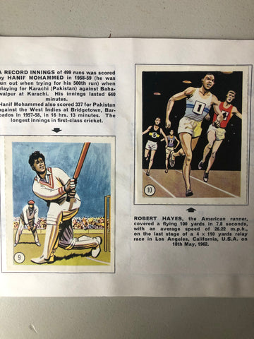 1960s Record Breakers Booklet
