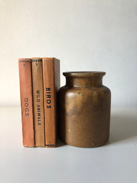 Brown Stoneware Pottery