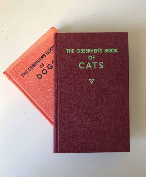 Pair of Observer Books, Dogs & Cats