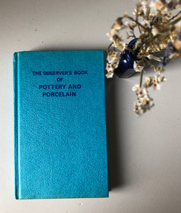 Observer Book of Pottery and Porcelain