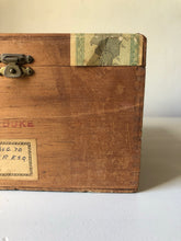 Load image into Gallery viewer, Vintage Jamaican Cigar Box