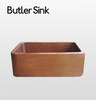 Copper Butler Sink