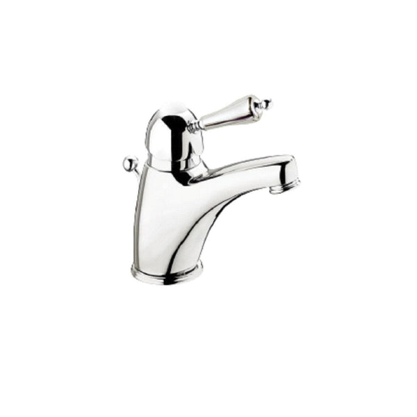 Monobloc Single Lever Basin Mixer - Porcelain Lever
