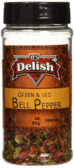 Dried Red and Green Bell Peppers Mix