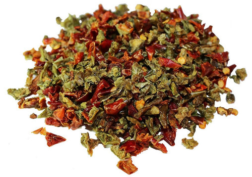 Dried Red and Green Bell Peppers Mix - Its Delish