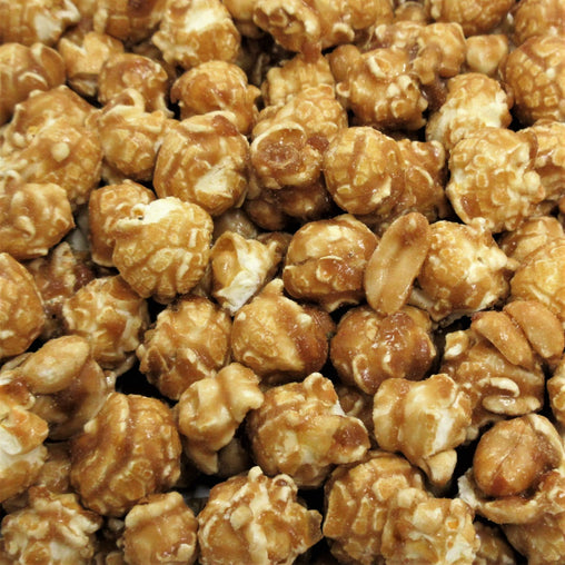 Caramel Nut Popcorn - Its Delish