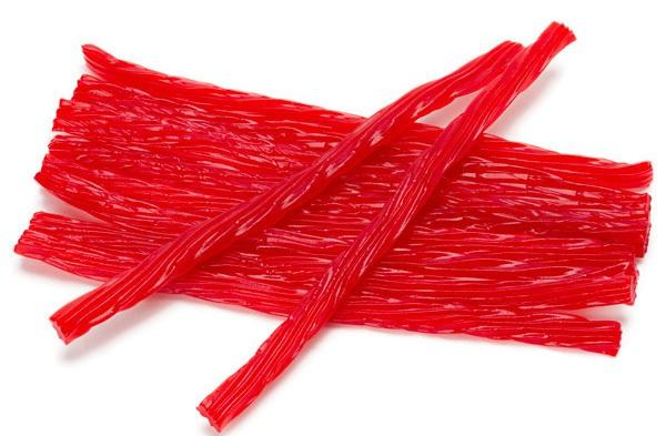 CHERRY LICORICE STICKS - Its Delish