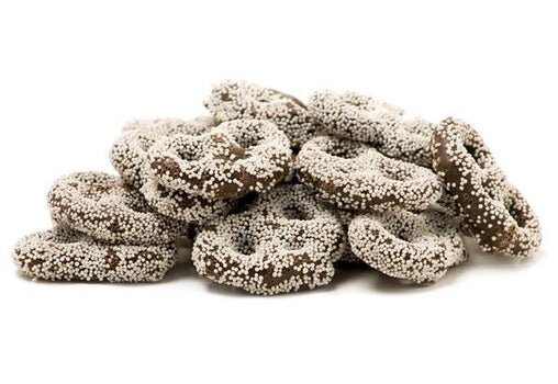 CHOCOLATE PRETZELS (WHITE SPRINKLES) - Its Delish