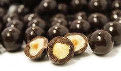 Delicious Dark Chocolate Hazelnuts