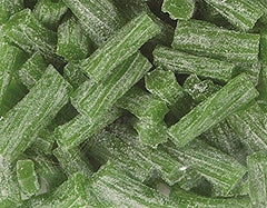 GREEN APPLE SOUR LICORICE BITS - Its Delish