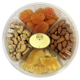 Gourmet Nut & Dried Fruit Variety 4-Section Gift Tray
