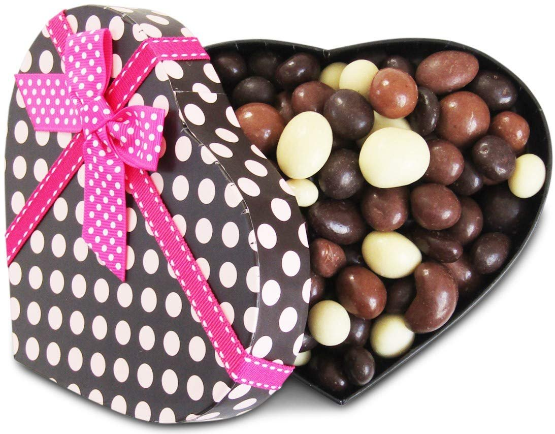 Gourmet Valentines Chocolates Heart Box Chocolate Bridge Mix