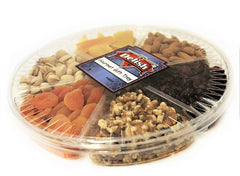 Gourmet Nut & Dried Fruit Variety 6-Section Gift Tray