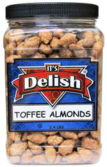 Toffee Coated Almonds - 2.4 LB Jumbo Container