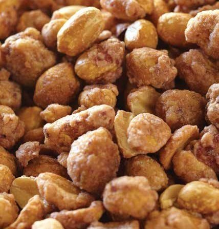 Cinnamon Flavored Toffee Covered Peanuts