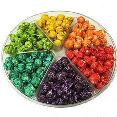 Rainbow Popcorn Gift Tray 6 Section