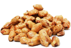 Cinnamon Flavored Toffee Covered Mixed Nuts
