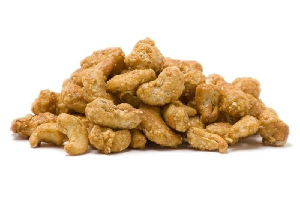 Cinnamon Flavored Toffee Covered Cashews