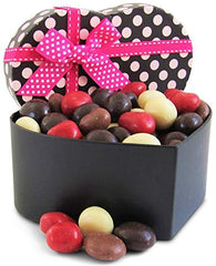 Gourmet Valentines Chocolates Heart Box Chocolate Covered Cherries Medley