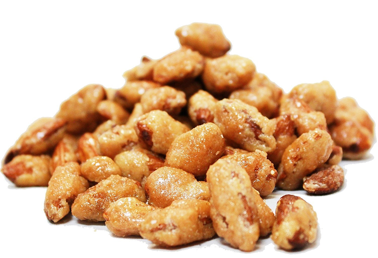 Cinnamon Flavored Toffee Covered Almonds