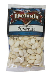 PUMPKIN SEEDS IN SHELL (ROASTED & SALTED) - Its Delish