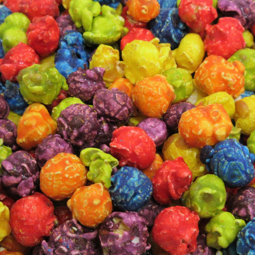 Rainbow Popcorn - Its Delish