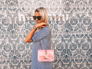 bubble gum pink bag mix mix st tropez