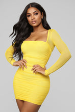 Load image into Gallery viewer, yellow party dress