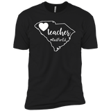 Red For Ed Shirt SC South Carolina Teacher Public Education Shirt-Gift Style