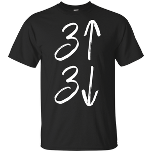 3 Up 3 Down Funny Cute Baseball for Moms Dads Shirt