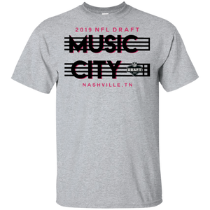 2019 NFL Draft Music City Nashville Shirt